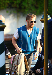 August 29, 2018 - Venice, Italy - Ryan Gosling arrives at the Hotel Excelsior during the 75th Venice Film Festival, in Venice, Italy, on August 29, 2018. (Credit Image: © Matteo Chinellato/NurPhoto/ZUMA Press)