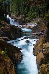 Silver Falls, Mt. Rainier National Park, Washington, US