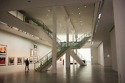 Interior of the Berlinische Galerie. A museum of modern art, photography and architecture in Berlin, Germany