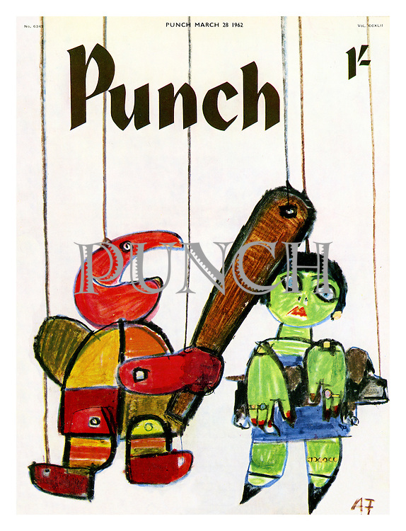 Punch cover 28 March 1962