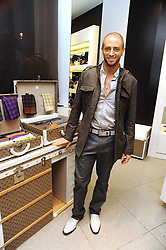 Choreographer BRIAN FRIEDMAN at the MCM Christmas party held at their store at 5 Sloane Street, London on 26th November 2008.