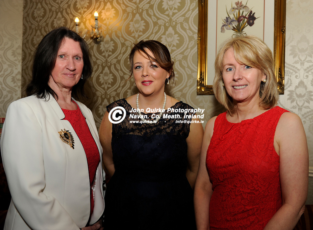 27-03-15. Meath Style Awards 2015 at the Headfort Arms Hotel, Kells.<br /> From left, Marian Caffrey, Linda Cahill and Patricia Rogers, Meath Chronicle.<br /> Photo: John Quirke / www.quirke.ie<br /> ©John Quirke Photography, Unit 17, Blackcastle Shopping Cte. Navan. Co. Meath. 046-9079044 / 087-2579454.