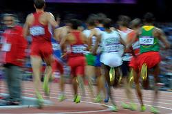 Aug. 5, 2012 - London, England, United Kingdom - .Illustration, Rennen, Laufwettbewerb, Langstreckenlauf, Langstrecke.© pixathlon