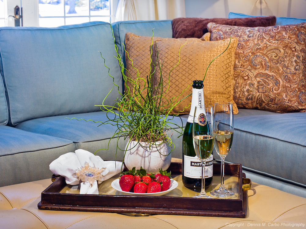 """Champagne & Strawberries by """"The Polished Home"""" interior design"""