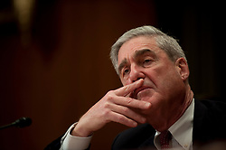 May 17, 2017 - FILE PHOTO - The Justice Department on Wednesday named ROBERT MUELLER as special counsel to oversee the department's investigation into Russian meddling in the 2016 election. Mueller III served as FBI director from 2001 through 2013. Pictured: Apr 15,2010 - Washington, District of Columbia USA - FBI Director Robert Mueller testifies before the Appropriations Subcommittee on Commerce, Justice and Science during a hearing on the proposed 2011 budget for the Federal Bureau of Investigation. (Credit Image: © Pete Marovich/ZUMApress.com)