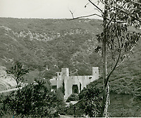 1947 Pilgrimage Play Theater on the east side of the Cahuenga Pass.