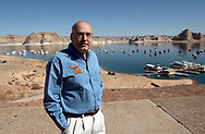 The manager of the Wahwaep Marina on Lake Powell.