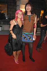 Left to right, LILY ALLEN and JANET STREET-PORTER at the Royal Academy of Art Summer Exhibition Preview Party on 4th June 2008.<br /><br />NON EXCLUSIVE - WORLD RIGHTS