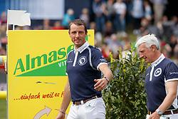 WATHELET Gregory (BEL), BOST Roger Yves (FRA)<br /> Hamburg - 89. Deutsches Spring- und Dressur Derby 2018<br /> Global Champions League<br /> 12.Mai 2018<br /> www.sportfotos-lafrentz.de/Stefan Lafrentz