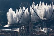 Ponte Morandi Demolition