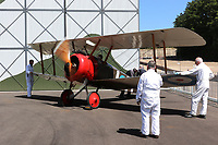 Sopwith Camel, Brooklands Museum, Weybridge, Surrey, UK, 22 June 2018, Photo by Richard Goldschmidt