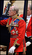 QUEEN ATTENDS TROOPING OF THE COLOUR 16-6-12