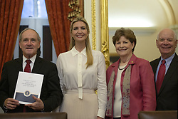 United States Senator Jim Risch (Republican of Idaho), First Daughter and Advisor to the President Ivanka Trump, United States Senator Jeanne Shaheen (Democrat of New Hampshire), and United States Senator Ben Cardin (Democrat of Maryland) attend a Women, Peace, and Security Roundtable with the U.S. Foreign Relations Committee at the U.S. Capitol in Washington DC, USA, on June 11, 2019. Photo by Stefani Reynolds / CNP/ABACAPRESS.COM
