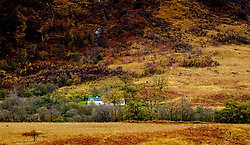 A small cottage in Glen Etive, Highlands of Scotland<br /> <br /> (c) Andrew Wilson | Edinburgh Elite media