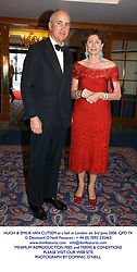HUGH & EMILIE VAN CUTSEM at a ball in London on 3rd June 2006.QPD 74<br /> <br /> NON EXCLUSIVE - WORLD RIGHTS