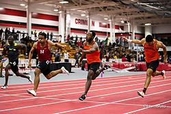 Harvard University<br /> Crimson Elite Indoor track & field meet<br /> womens long jump,