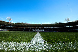 A general view of The KCOM Stadium home to Hull City - Mandatory by-line: Robbie Stephenson/JMP - 24/08/2019 - FOOTBALL - KCOM Stadium - Hull, England - Hull City v Bristol City - Sky Bet Championship