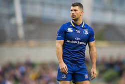 May 27, 2018 - Dublin, Ireland - Rob Kearney of Leinster looks on during the Guinness PRO14 Final match between Leinster Rugby and Scarlets at Aviva Stadium in Dublin, Ireland on May 26, 2018  (Credit Image: © Andrew Surma/NurPhoto via ZUMA Press)