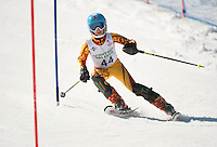Francis Piche Invitational J5 Slalom 2nd run March 18, 2012.