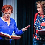 NLD//Amsterdam20160415 - Persdag toneelstuk In de Ban van Broadway, Loes Luca en Marisa van Eyle