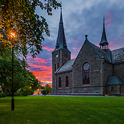 Ilen Church (Norwegian: Ilen kirke, also called Ila Church) is a parish church in the municipality of Trondheim in Sør-Trøndelag county, Norway. It is located in the Ila area in the city of Trondheim, on the 250-metre (820 ft) wide isthmus between the river Nidelva and the Trondheimsfjord. Please feel free to check my photos here or find me by: |Website| ,|Facebook page| , |Instagram| ,|Google+| ,|Twitter |.