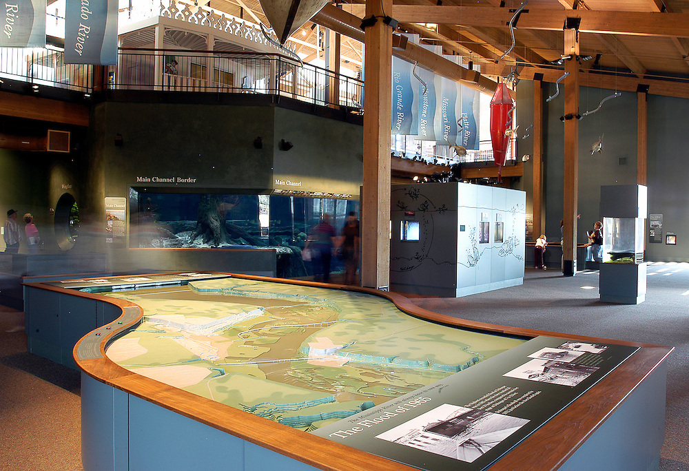 National Mississippi River Museum, 350 East Third Street, Port of Dubuque, Iowa