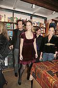 Robert Denning, Lady Ella Windsor, Lady Eloise Anson, Book launch of Pretty Things by Liz Goldwyn at Daunt <br />Books, Marylebone High Street. London 30 November 2006.   ONE TIME USE ONLY - DO NOT ARCHIVE  © Copyright Photograph by Dafydd Jones 248 CLAPHAM PARK RD. LONDON SW90PZ.  Tel 020 7733 0108 www.dafjones.com