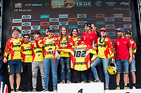 Spain's representation during the last day World trophy class of the FIM international six days of enduro 2016 in Navarra, Spain. October 11, 2016. (ALTERPHOTOS/Rodrigo Jimenez)