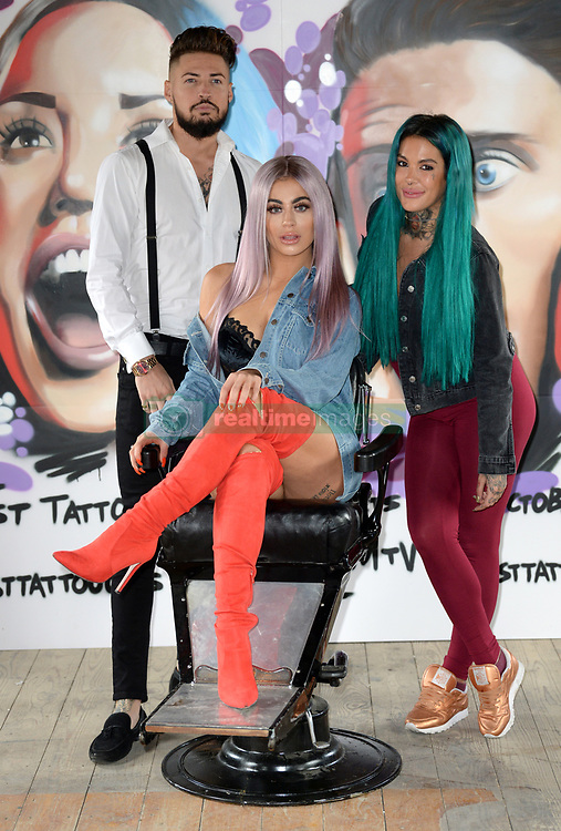 Katie Salmon attending the Just Tattoo of Us Series 2 photocall at a Pop-op Parlour in Camden, London. Photo credit should read: Doug Peters/EMPICS Entertainment