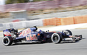 March 1, 2016 - Barcelona, Spain - <br /> <br /> BARCELONA -march 01- SPAIN: Max Verstappen and Toro Rosso during the F1 tests in the Barcelona-Catalunya Circuit, on march 01, 2016.<br /> ©Exclusivepix Media