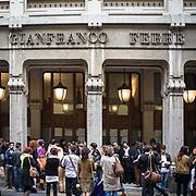 Sesto e penultimo giorno della Settimana della Moda a Milano: palazzo di Gianfranco Ferre<br /> <br /> Sixth day and penultimate day of Milan Fashion Week: the palace of Gianfranco Ferre