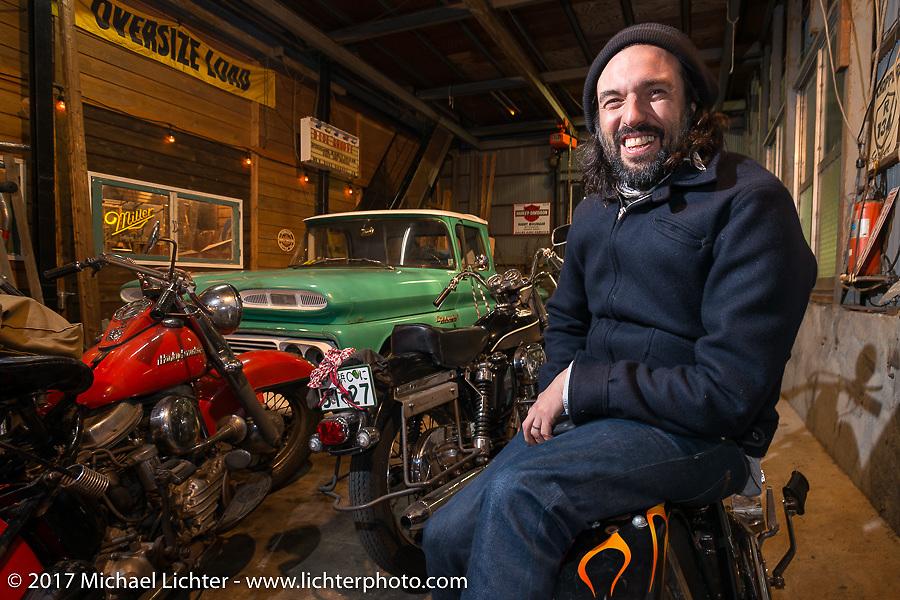 David Borras on the Blue Groove shop ride from Kamakura to Miura Penninsula. Japan. Monday December 4, 2017. Photography ©2017 Michael Lichter.