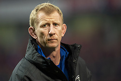 December 30, 2018 - Limerick, Ireland - Leo Cullen head coach of Leinster during the Guinness PRO14 match between Munster Rugby and Leinster Rugby at Thomond Park in Limerick, Ireland on December 29, 2018  (Credit Image: © Andrew Surma/NurPhoto via ZUMA Press)