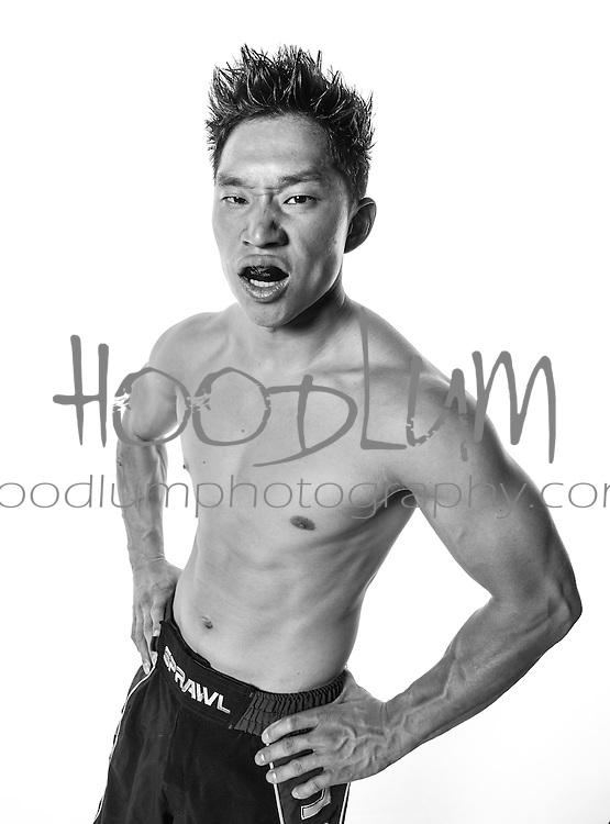 Portrait of MMA Cage Fighter Mark Mc Glasson