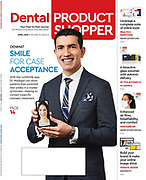 Covershot for Dental Product Shopper photographed by editorial photographer Raymond Rudolph