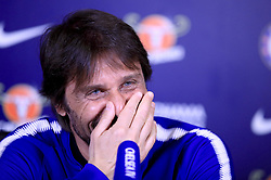 Chelsea manager Antonio Conte during a press conference at Cobham Training Ground.