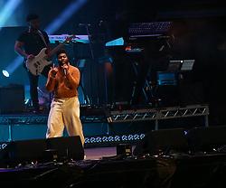 AU_1444898 - Perth, AUSTRALIA  -  Khalid performs at Origin Fields Music and Culture Festival at Langley Park in Perth,Western Australia<br /> <br /> Pictured: Khalid<br /> <br /> BACKGRID Australia 30 DECEMBER 2018 <br /> <br /> BYLINE MUST READ: FAITH MORAN / BACKGRID<br /> <br /> Phone: + 61 2 8719 0598<br /> Email:  photos@backgrid.com.au