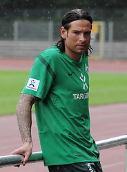29.06.2011, Platz 11, Bremen, GER, 1.FBL, Laktattest Werder Bremen, im Bild Tim Wiese (Bremen #1)   // during the training session from Werder Bremen    EXPA Pictures © 2011, PhotoCredit: EXPA/ nph/  Frisch       ****** out of GER / CRO  / BEL ******