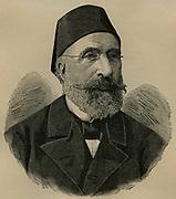 Midhat Pasha (1822-1884) Ottoman Turkish statesman and reformer.