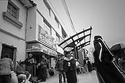 Otovalo street musicians playing cumbia, Otovalo, Ecuador, travel photography, documentary photography, Otovalenas, Latin America, Andes,