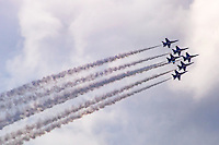 The Blue Angels Leave their Signature