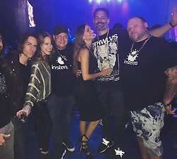 """Sofia Vergara releases a photo on Instagram with the following caption: """"@matthewmercer @marisha_ray @joemanganiello #lanightlife \ud83c\udf89\ud83c\udf89@djdanmusic"""". Photo Credit: Instagram *** No USA Distribution *** For Editorial Use Only *** Not to be Published in Books or Photo Books ***  Please note: Fees charged by the agency are for the agency's services only, and do not, nor are they intended to, convey to the user any ownership of Copyright or License in the material. The agency does not claim any ownership including but not limited to Copyright or License in the attached material. By publishing this material you expressly agree to indemnify and to hold the agency and its directors, shareholders and employees harmless from any loss, claims, damages, demands, expenses (including legal fees), or any causes of action or allegation against the agency arising out of or connected in any way with publication of the material."""
