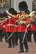 Changing of the Guard Ceremony Outside Buckingham Palace