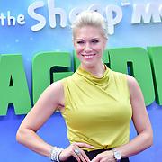 Hannah Waddingham attend the Shaun the Sheep Movie: Farmageddon, at ODEON LUXE on 22 September 2019,  London, UK.