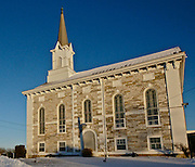 Christ Evangelical Lutheran Church, 1789, Historic Churches, Stouchburg, Berks Co., PA