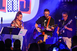 Cami performs onstage during the 9th Annual BMI & Rebeleon Entertainment's 'Los Producers Charity Concert' held at The Hard Rock Cafe on November 14, 2019 in Las Vegas, Nevada, United States (Photo by JC Olivera for BMI & Rebeleon Entertainment)