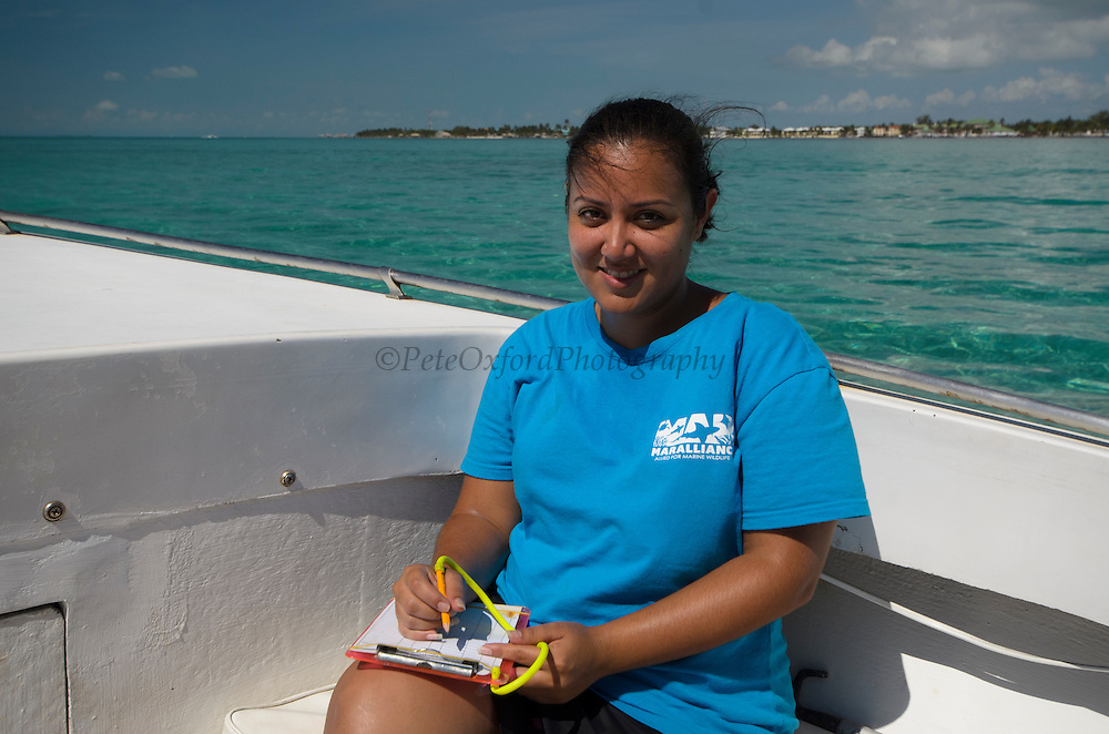Vanessa Figueroa<br /> MAR Alliance Staff<br /> Hol Chan Marine Reserve<br /> Ambergris Caye<br /> Belize<br /> Central America