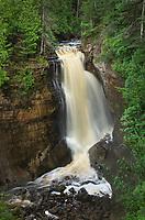 Miners Falls Pictured Rocks National Lakeshore Michigan