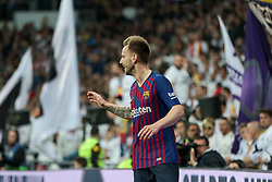 March 2, 2019 - Madrid, MADRID, SPAIN - Ivan Rakitic of FC Barcelona celebrates a goal during the spanish league, La Liga, football match played between Real Madrid and FC Barcelona at Santiago Bernabeu Stadium in Madrid, Spain, on March 02, 2019. (Credit Image: © AFP7 via ZUMA Wire)