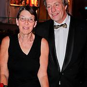 NLD/Utrecht/20110930 - NFF 2011 - Inloop Gouden Kalveren 2011, Jette Klijnsma en partner